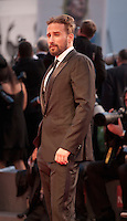 Actor Matthias Schoenaerts at the gala screening for the film The Danish Girl  at the 72nd Venice Film Festival, Saturday September 5th 2015, Venice Lido, Italy.