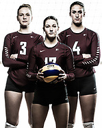 2016-01-24 McMaster Volleyball