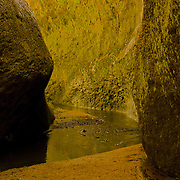 """One of the many canyons near the """"White City"""" of Arequipa, Peru."""