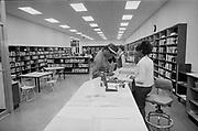 Y-680111C-15.  Albina Branch Public Library. January 11, 1968 Portland, Oregon.