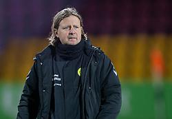 Cheftræner Bo Henriksen (AC Horsens) under kampen i 3F Superligaen mellem FC Nordsjælland og AC Horsens den 19. februar 2020 i Right to Dream Park, Farum (Foto: Claus Birch).