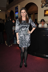 AMANDA LAMB at the opening night of Totem by Cirque du Soleil held at The Royal Albert Hall, London on 5th January 2011.