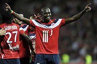 FOOTBALL - FRENCH CHAMPIONSHIP 2010/2011 - L1 - LILLE OSC v STADE RENNAIS - 29/05/2011 - PHOTO JEAN MARIE HERVIO / DPPI - JOY MOUSSA SOW (LOSC) AFTER THE 3RD GOAL