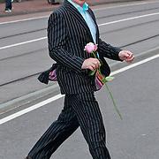 NLD/Amsterdam/20110722 - Afscheidsdienst voor John Kraaijkamp, Henk Poort
