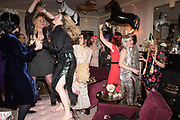 Kate Reardon Tatler goodbye party. Penhouse, Claridges,London.. 13 December 2017