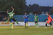 Pre-Season Friendly match between Basingstoke Town and AFC Wimbledon Ladies at the Soccer AM Stadium, Basingstoke, United Kingdom on 14 July 2015. Photo by Stuart Butcher.