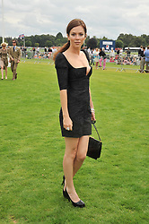 ANNA FRIEL at the 25th annual Cartier International Polo held at Guards Polo Club, Great Windsor Park, Berkshire on 26th July 2009.