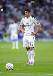 Real Madrid's James Rodriguez - Photo mandatory by-line: Joe Meredith/JMP - Mobile: 07966 386802 12/08/2014 - SPORT - FOOTBALL - Cardiff - Cardiff City Stadium - Real Madrid v Sevilla - UEFA Super Cup