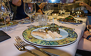 Eat a special dinner with a top Swiss sommelier (wine steward) at Hotel Alpenblick, Wilderswil, Switzerland, the Alps, Europe.