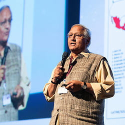 Belgium - Brussels - 10 March 2014 - Innovation Convention 2014 - Innovation in adversity - Is necessity the mother of invention? - Bunker ROY , Founder Director of Barefoot College ©EC/CE