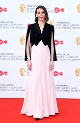 Suranne Jones attending the Virgin Media BAFTA TV awards, held at the Royal Festival Hall in London. Photo credit should read: Doug Peters/EMPICS