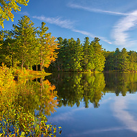 Central Massachusetts Fall Foliage fine art photography of early fall colors at the banks of Whitehall Pond in Rutland State Park, Massachusetts.<br /> <br /> Whitehall Pond Rutland State Park Central Massachusetts Fall Foliage photography images are available as museum quality photography prints, canvas prints, acrylic prints, wood prints or metal prints. Fine art prints may be framed and matted to the individual liking and interior design decorating needs.<br /> <br /> Good light and happy photo making!<br /> <br /> My best,<br /> <br /> Juergen