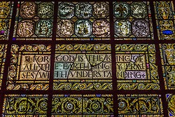 Stained Glass window found in Saint John The Devine Cathedral in New York City