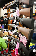 A rack of shotguns for sale at the South Towne Expo Center during the 2013 Rocky Mountain Gun Show, Saturday, Jan. 5, 2013.