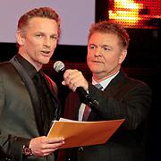 NLD/Amsterdam/20110328 - Uitreking Rembrandt Awards 2011, Barry Atsma maakt Award winnaar bekend