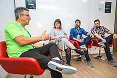 Ricardo de Bem, Melissa Lesnovski, Moyses Costa e Jonatas Abbott