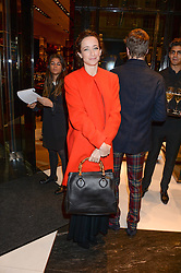 LEAH WOOD at a party hosted by Gucci & Clara Paget to drink a new cocktail 'I Bamboo You' held at Gucci, 34 Old Bond Street, London on 16th October 2013.