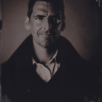 Alex Hawkey, tintype portrait made with wetplate collodion process.