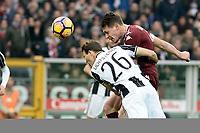Gol di Andrea Belotti, Andrea Belotti Goal celebration <br /> Torino 11-12-2016 Stadio Olimpico Grande Torino <br /> Fotball Calcio Serie A 2016/2017 Torino - Juventus  <br /> Foto Massimo Pinca Insidefoto