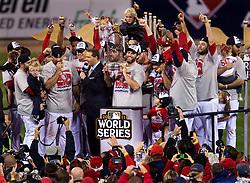 The St. Louis Cardinals win, 2011