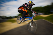 #162 (BENSINK Niels) NED at the UCI BMX Supercross World Cup in Papendal, Netherlands.