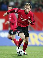 Fotball<br /> Bundesliga Tyskland 2004/2005<br /> Foto: Witters/Digitalsport<br /> NORWAY ONLY<br /> <br /> Ivica Banovic <br /> Fussballspieler 1. FC Nürnberg