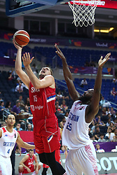 September 5, 2017 - °Stanbul, Türkiye - Great Britain vs. Sirbia   Eurobasket 2017 game at Ulker Sports Arena, September 5th, 2017 (Credit Image: © Depo Photos via ZUMA Wire)