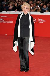 Enrica Bonaccorti attending the Tom Hanks Lifetime Achievement Award held during Roma Cinema Fest 2016 in Italy.