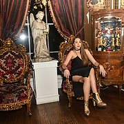 Chloe Adlerstein is a Bachelor girls contestant attend The Bachelor UK 2019 launch night - The girls private screening on Channel 5 at Beach Blanket Babylon on 4 March 2019, London, UK.