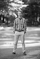 Zach Nelson senior portrait session.   ©2019 Karen Bobotas Photographer
