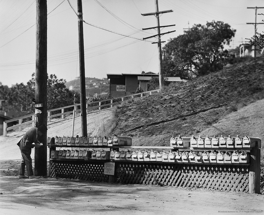 Mailboxes, Los Angeles, USA, 1926
