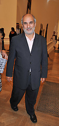ALAN YENTOB attends the private view of Anish Kapoor's latest exhibition at the Royal Academy of Arts, Piccadilly, London on 22nd September 2009