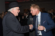 TERENCE PEPPER; TIM MURPHY, Sotheby's Erotic sale cocktail party, Sothebys. London. 14 February 2018