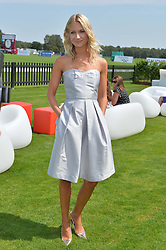 ZOE COLE at the Audi International Polo at Guards Polo Club, Windsor Great Park, Egham, Surrey on 26th July 2014.