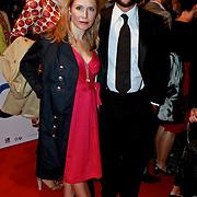 NLD/Den Haag/20110406 - Premiere Alle Tijden, Ellen van Rijn en partner Kaja Wolffers