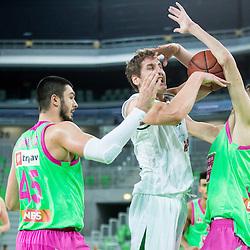 20151121: SLO, Basketball - ABA League 2015/16, KK Union Olimpija vs Mega Leks