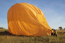 After Hot Air Ballooning Over Bagan
