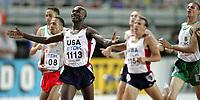 Friidrett<br /> VM 2007<br /> 29.08.2007<br /> Foto: Gepa/Digitalsport<br /> NORWAY ONLY<br /> <br /> ATHLETICS - 11TH IAAF WORLD CHAMPIONSHIPS - 25/8/2007 > 2/9/2007 - OSAKA (JAP)<br /> <br /> Bernard Lagat (USA)