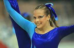 Nadejda Yuventa, Russia at European Cheerleading Championship 2008, on July 5, 2008, in Arena Tivoli, Ljubljana, Slovenia. (Photo by Vid Ponikvar / Sportal Images).