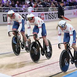 26-02-2020: Wielrennen: WK Baan: Berlijn<br />Team Great Britain
