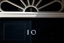 © Licensed to London News Pictures. 19/04/2017. London, UK. Number 10 sign is seen at Downing Street in London on 14 April 2017, the morning after Prime Minister THERESA MAY announced plans for a snap general election. Photo credit: Tolga Akmen/LNP