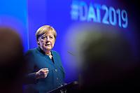 12 NOV 2019, BERLIN/GERMANY:<br /> Angela Merkel, CDU, Bundeskanzlerin, haelt eine Rede, Deutscher Arbeitgebertag 2019, Bundesverband Deutscher Arbeitgeber, BDA, Estrell Convention Center<br /> IMAGE: 20191112-01-177
