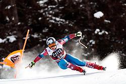 28.12.2017, Stelvio, Bormio, ITA, FIS Weltcup, Ski Alpin, Abfahrt, Herren, im Bild Thomas Biesemeyer (USA) // Thomas Biesemeyer of the USA in action during mens Downhill of the FIS Ski Alpine Worldcup at the Stelvio course, Bormio, Italy on 2017/12/28. EXPA Pictures © 2012, PhotoCredit: EXPA/ Johann Groder