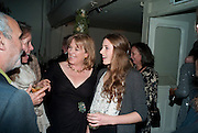 HANNAH ROTHSCHILD AND HER DAUGHTER NELL, Party for Perfect Lives by Polly Sampson. The 20th Century Theatre. Westbourne Gro. London W11. 2 November 2010. -DO NOT ARCHIVE-© Copyright Photograph by Dafydd Jones. 248 Clapham Rd. London SW9 0PZ. Tel 0207 820 0771. www.dafjones.com.