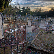 Graveyard at Sibley Street & Natoma Street