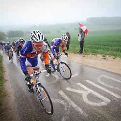Olympia Tour Bocholtz-Voerendaal Dylan van Baarle, Nick van der Lijcke  op Gulpenerberg