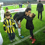 Fenerbahce's Cristian Oliveira BARONI during their Turkish superleague soccer match Fenerbahce between Samsunspor at the Sukru Saracaoglu stadium in Istanbul Turkey on Sunday 23 October 2011. Photo by TURKPIX