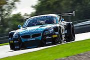 2012 FIA GT1 World Championship.Donington Park, Leicestershire, UK.27th - 30th September 2012.Nikolaus Mayr-Melnhof / Mathias Lauda, BMW E89 Z4..World Copyright: Jamey Price/LAT Photographic.ref: Digital Image Donington_FIAGT1-19171
