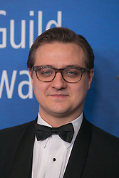 February 17, 2019 - Beverly Hills, California, U.S - Chris Hayes on the red carpet of the 2019 Writers Guild Awards at the Beverly Hilton Hotel on Sunday February 17, 2019 in Beverly Hills, California. ARIANA RUIZ/PI (Credit Image: © Prensa Internacional via ZUMA Wire)