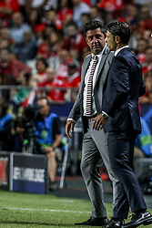 September 19, 2018 - Na - Lisbon, 19/09/2018 - Sport Lisboa e Benfica received the Fu√üball-Club Bayern München tonight at the Luz stadium in Lisbon in the first game of the 2018/19 Champions League group stage. Rui Vitoria; Niko Kovac  (Credit Image: © Atlantico Press via ZUMA Wire)